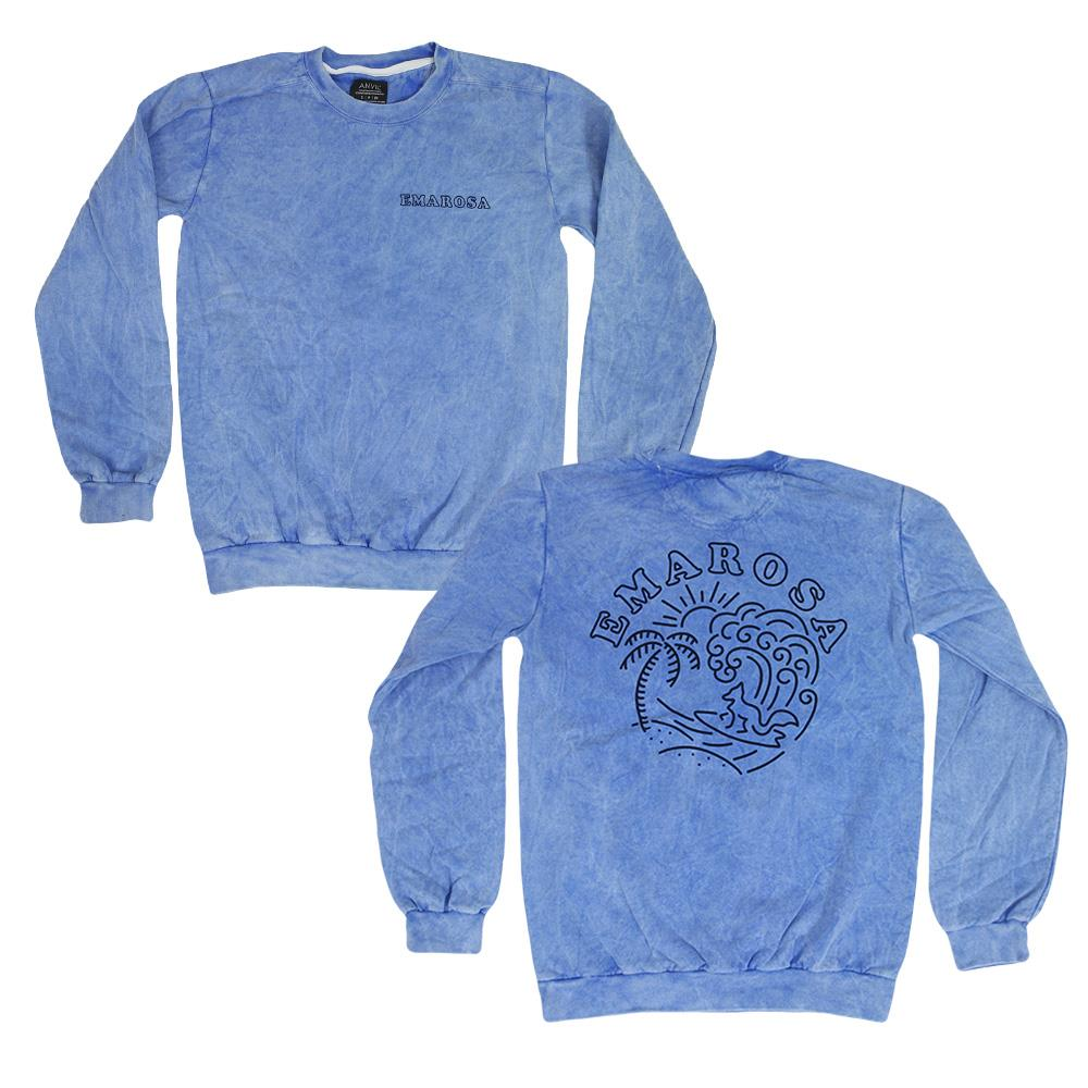 Fox Acid Wash Crewneck