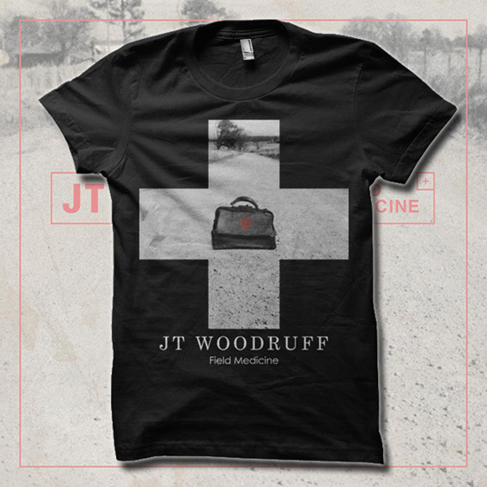 Cross Field Black T-Shirt