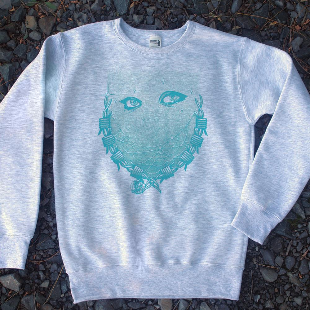 Barbed Blue Ash Crewneck