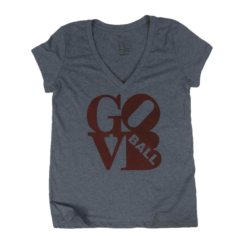 Love Heather Grey Women's V-Neck