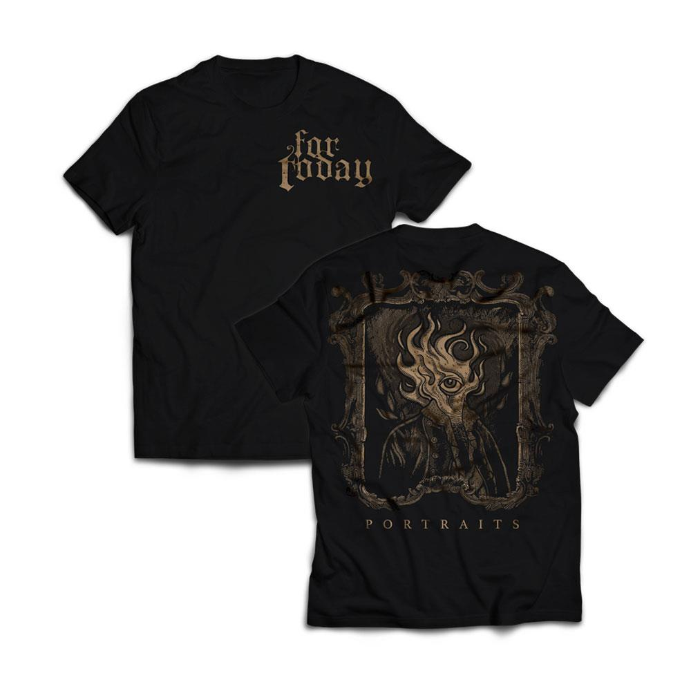 Flame Black T-Shirt