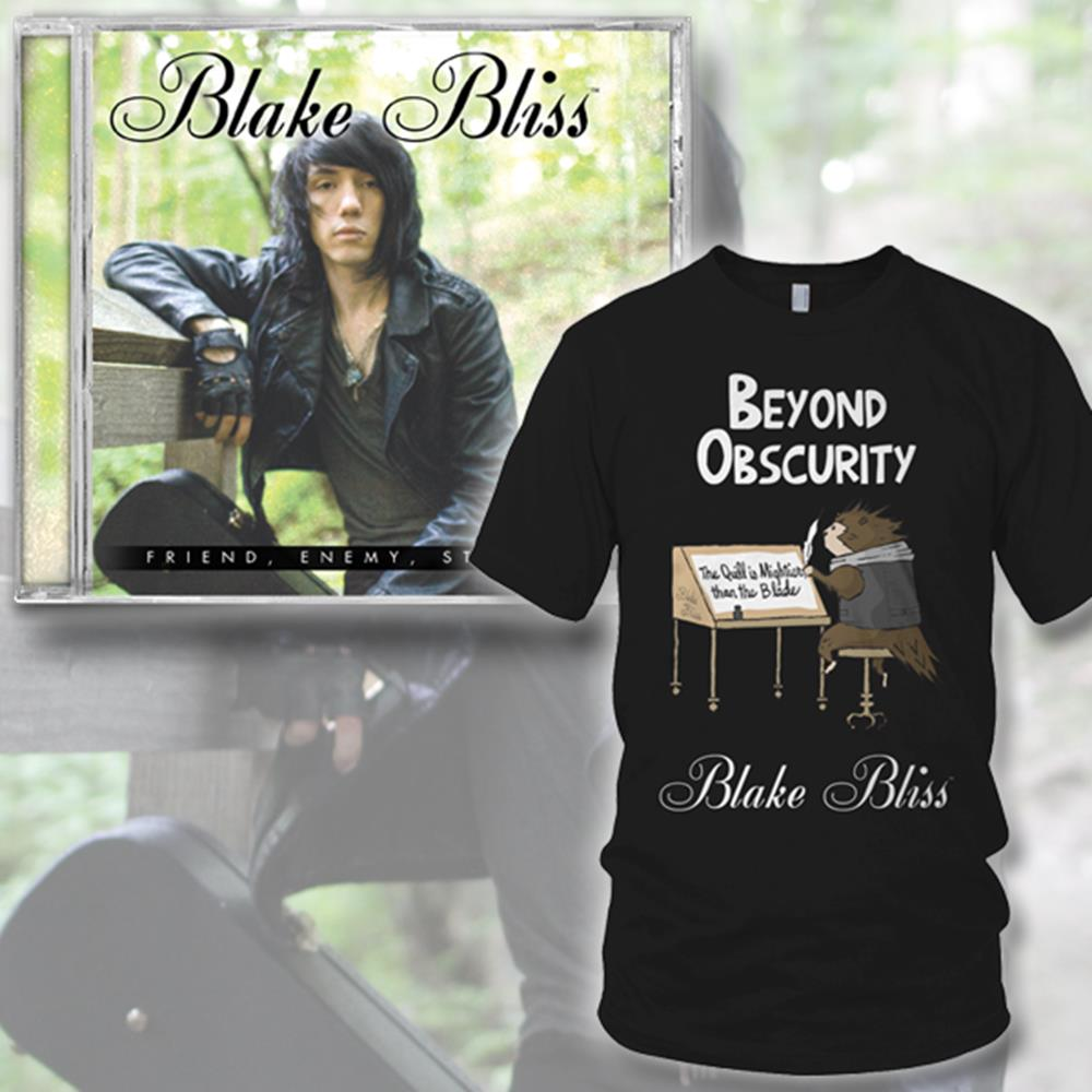 Blake Bliss CD+T-Shirt