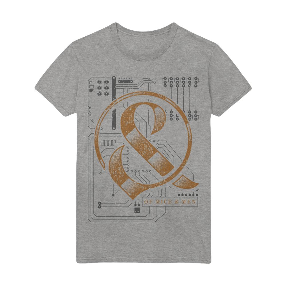 Circuit Board Grey