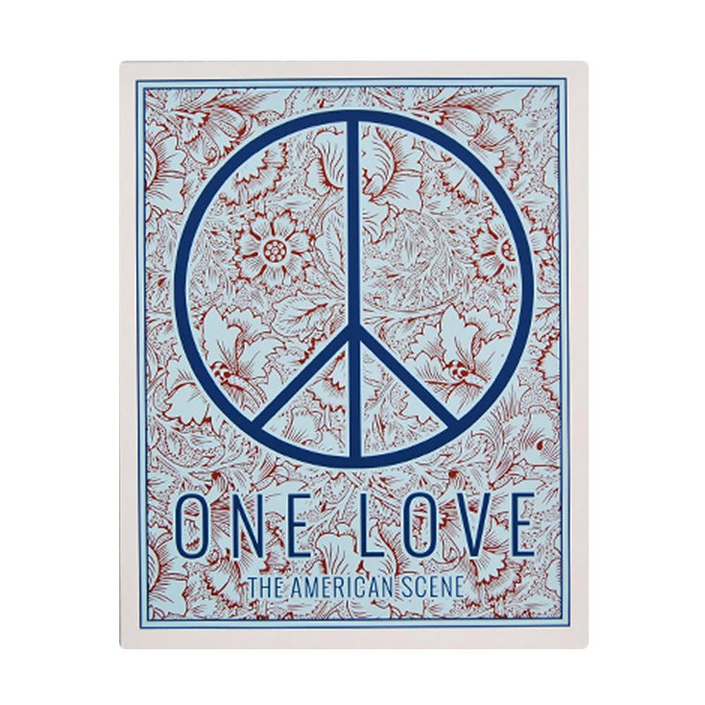 One Love Screen Printed  W /  Tube