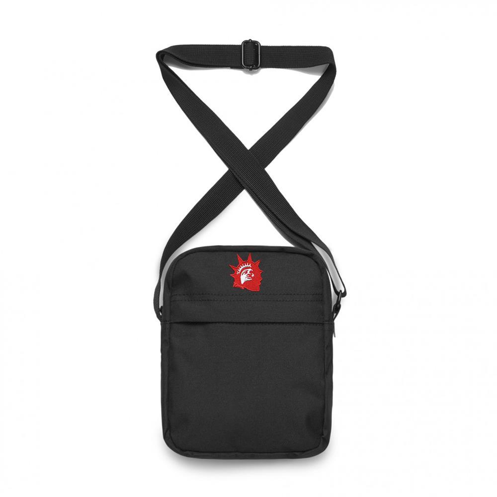 Red Liberty Black Shoulder Bag