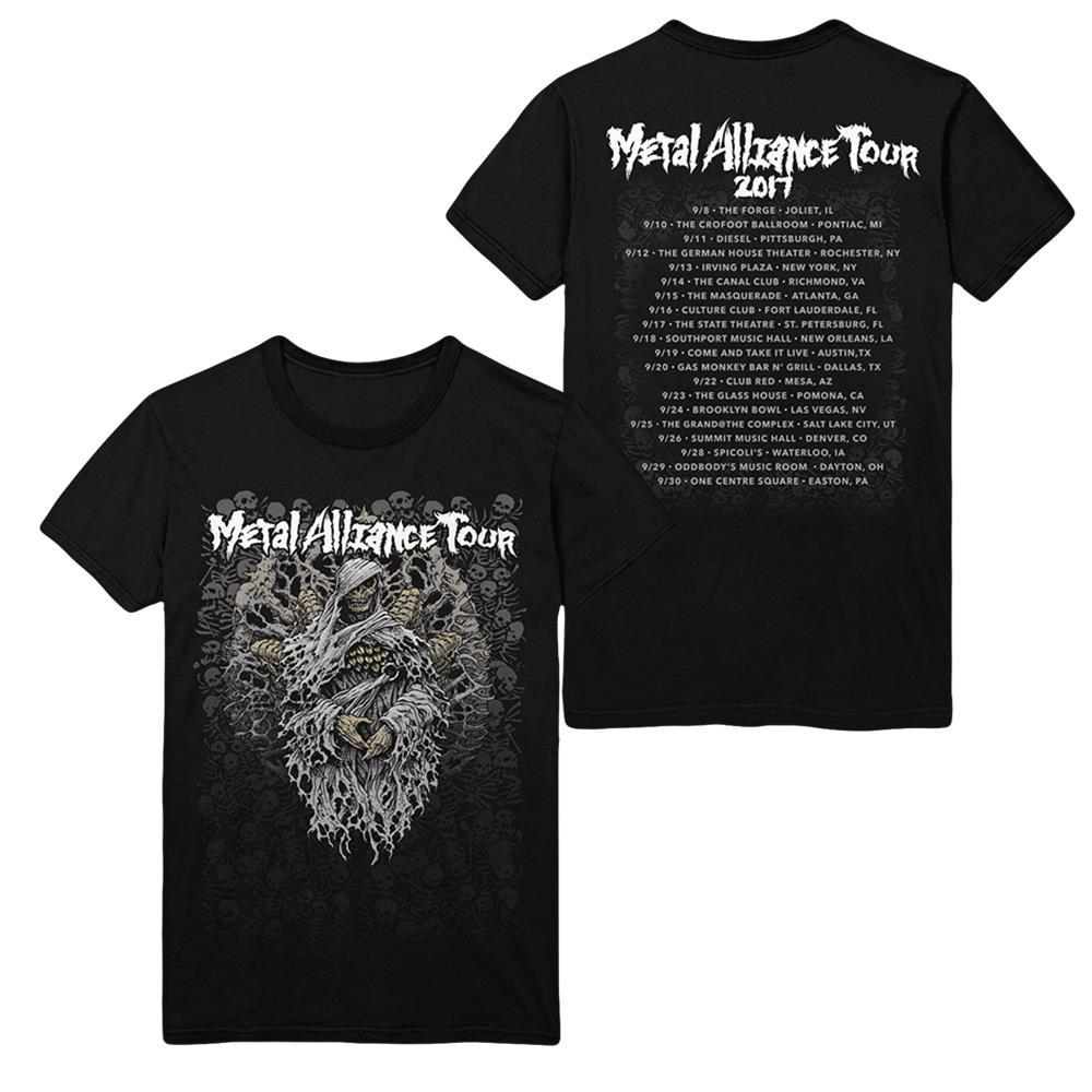 Good Fight Entertainment Metal Alliance Tour 2017 Black